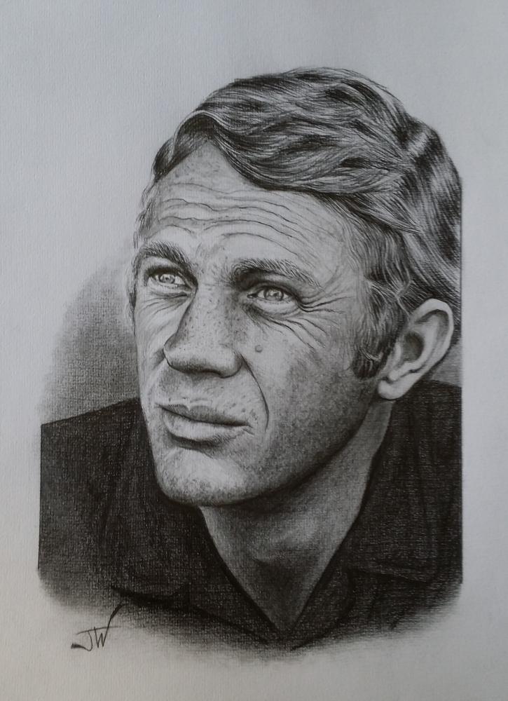 Steve McQueen by jeffcw